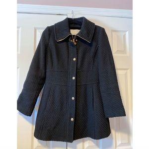 Woven Wool Coat